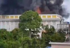 Taylandlı milyarderin sarayında yangın
