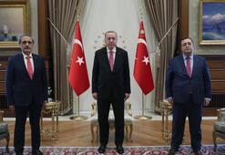 Son dakika... Cumhurbaşkanı Erdoğan, Yargıtay Cumhuriyet Başsavcısı Şahini kabul etti