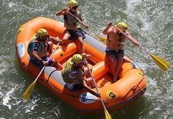 Melet Irmağında Rafting Parkuru İnceleme ve Rafting Sporu Tanıtım  Etkinliği