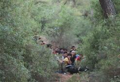 Muğlada 54 düzensiz göçmen yakalandı