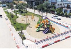 Barbaros Parkı hazır