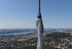 Çamlıca televizyon kulesinde sona yaklaşılıyor İstanbulun sembolü olacak