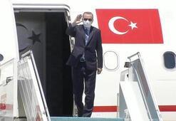 Cumhurbaşkanı Erdoğan günübirlik çalışma ziyareti kapsamında Katara gitti