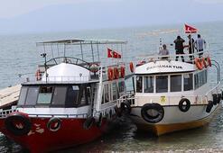 Vanda, 60a yakın kaçak göçmene mezar olan teknenin fotoğrafına ulaşıldı