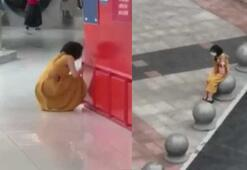 Covid-19 testi pozitif çıkan Çinli kadın ortalığı birbirine kattı