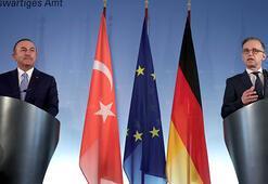 Son dakika... Bakan Çavuşoğlu ve Almanya Dışişleri Bakanı Maastan önemli açıklamalar
