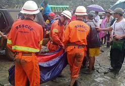 Myanmarda meydana gelen heyelanda ölenlerin sayısı 162ye yükseldi