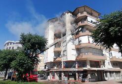Antalya Manavgatta ev yangını