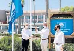 Marmaris'e 22'nci mavi bayrak geldi