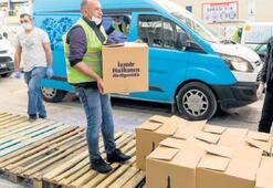 205 bin gıda paketi
