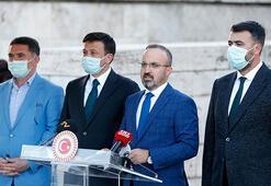 AK Partili Turandan Meclis önünde bekleyen baro başkanlarına ilişkin açıklama