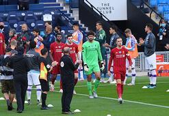 Manchester City, şampiyon Liverpoolu alkışladı