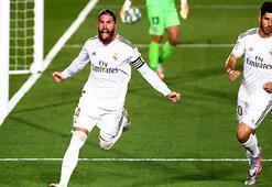 Real Madrid şampiyonluğa yürüyor Üst üste 6. galibiyet...