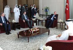 Bakan Albayraktan Katar ziyareti paylaşımı Verimli görüşmeler gerçekleştirdik