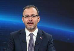 Gençlik ve Spor Bakanı Kasapoğlu: 'Her noktaya dokunacağız'