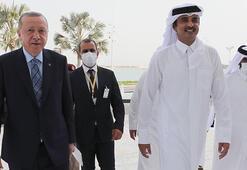 Katar Emiri Al Saniden Türkiye ile yapıcı iş birliği vurgusu