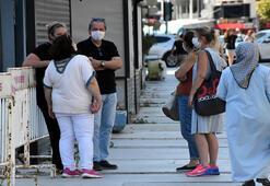 İzmirde önceden eğik binada sakinler isyan etti
