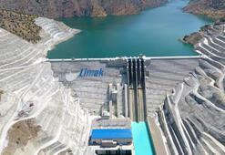 Avrupanın en büyük RCC barajı Çetin HESaçılıyor