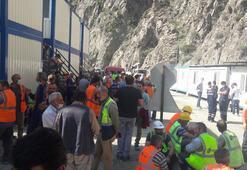 Yusufeli Barajı inşaatında çalışan işçilere korona virüs izni