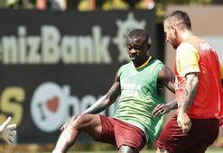 Galatasarayda Marcao takımla çalıştı