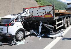 Boluda trafik kazası: 2 ölü, 1 yaralı