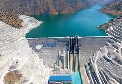 Çetin Barajı ve HES hizmete giriyor