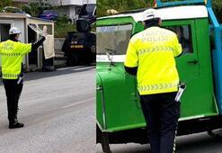 Ehliyetine 2070 yılına kadar el konuldu Polis böyle anons etti