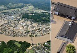 Japonyada sel felaketiyle boğuşuyor 14 kayıp...