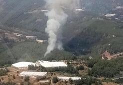 Kumlucada 4 hektarlık alan zarar gördü