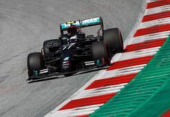 Formula 1 Avusturyada ilk pole pozisyonu Bottasın