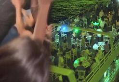 Corona virüse hiç aldırmadılar İstanbulda yatta lüks parti