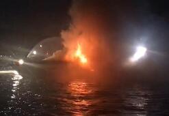 Son dakika haberi: İstanbulda korku dolu anlar Alev alev yandı