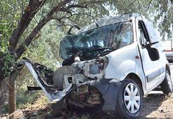 Kahramanmaraşta canlı yayına girdikten 6 saniye sonra feci kaza