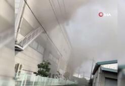 Fabrikada yangınında 3 itfaiyeci ve 1 polis öldü