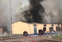 Son dakika: Havai fişek fabrikasında patlama Vali acı haberi duyurdu