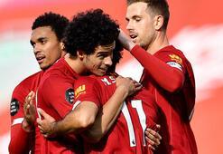 Şampiyon Liverpool, Aston Villayı 2-0 mağlup etti