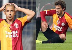 Son dakika | Galatasarayda Saracchi ve Feghouli şoku Kırmızı çıktı...