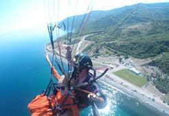 Normalleşme sürecinde yamaç paraşütüne ilgi arttı