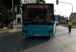 İstanbulda toplu taşıma araçlarında corona virüs denetimi