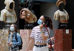 Orsay Müzesinde sosyal mesafeli dönem