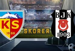 Kayserispor-Beşiktaş maçı saat kaçta hangi kanalda canlı olarak yayınlanacak İşte muhtemel 11ler...