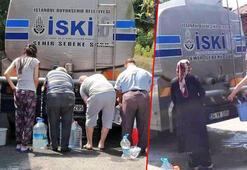 İstanbulda bidonla su kuyruğu Bakan Varanktan Kılıçdaroğlu ve Akşenere DARKlı gönderme