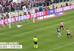 Trezeguet, Pirlo ve Platininin Juventus formasıyla attığı ilk goller