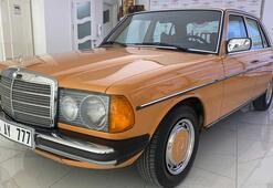 1977 model otomobil ilk günkü orijinalliğini koruyor