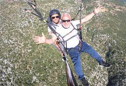 Adanada yamaç paraşütü festivali