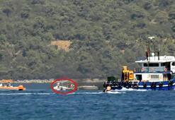 Bodrum'da korku dolu anlar Kaptansız bot 45 dakika kontrolsüz şekilde döndü
