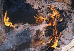 Bu taşlar tam 150 yıldır hiç sönmeden yanıyor