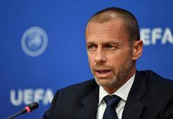UEFA Başkanı Ceferin ilk kez açıkladı Şampiyonlar Ligi maçlarında...