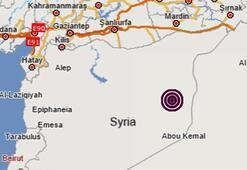 Son dakika haberi: Suriyede korkutan deprem