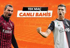 Milan - Juventus maçı heyecanı Tek Maç ve Canlı Bahis seçenekleriyle Misli.com'da
